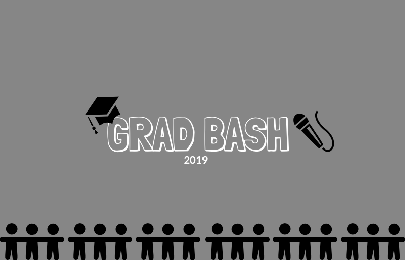 Grad Bash is being held four different nights this year: April 5, 6, 12, and 26.