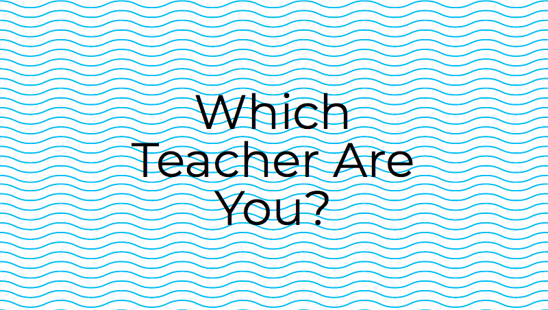 Find out below which Academy teacher you are most like.