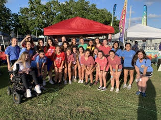 (Photo credit: Alissa Pradera/used with permission) TLC raised almost $4,00 for Relay For Life.