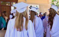 Seniors Attend Baccalaureate Mass