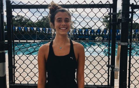 Tess Wadsworth ('20) has been on the swim team since freshman year.