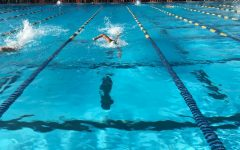 The Academy swim team competes at City Relays