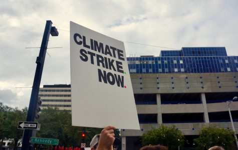 Students Attend Tampa's Climate Strike