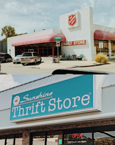 The+Salvation+Army+and+Sunshine+Thrift+Store+are+two+popular+thrift+stores+in+the+Tampa+Bay+Area.+Photo+Credit%3A+Hope+Joffray%2F+Achona+Online