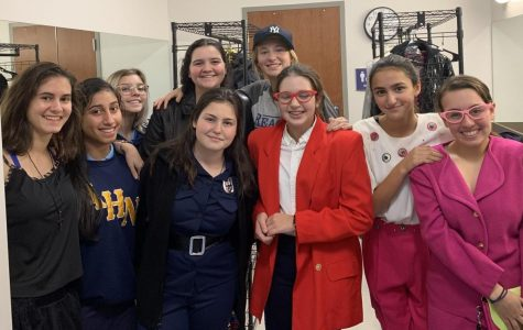 "Julianne Bland('21) said,""I am part of the stage crew for The Odd Couple. We have been preparing for the play since the first week of school, which is when the cast got their scripts."