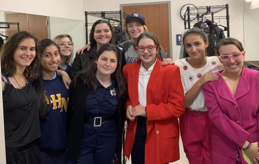 """Julianne Bland('21) said,""""I am part of the stage crew for The Odd Couple. We have been preparing for the play since the first week of school, which is when the cast got their scripts."""