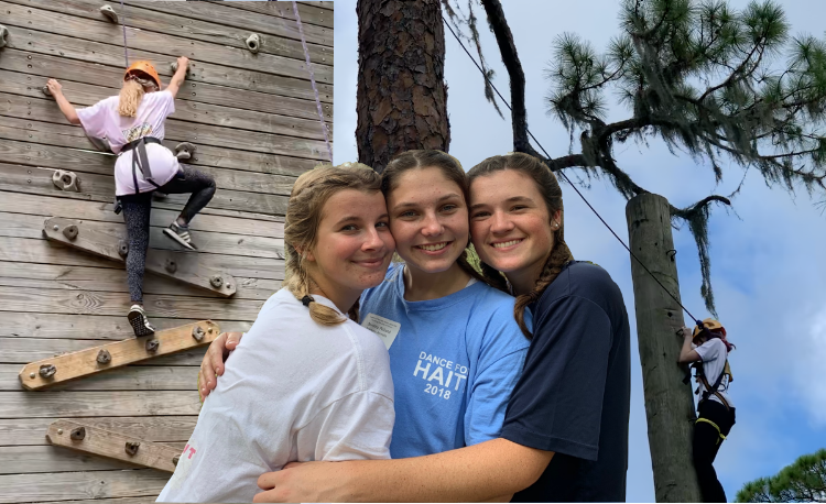 """The retreat was really fun. The day was full of high-level thinking activities that really made me feel close to the girls in my group."" said Dorothy Pickard ('20)."