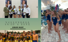 Volleyball & Swim Teams Celebrate Senior Night