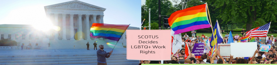 This past week the Supreme Court is reviewing three cases that have to deal with the firing of LGBTQ+ workers. These decisions will lead for a precedent for other LGBTQ+ people.