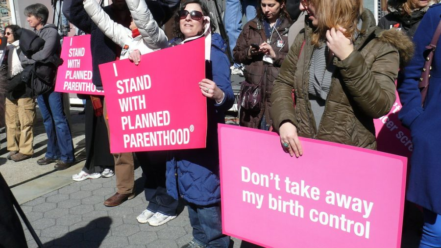 "Photo Credit: Charlotte Cooper/Google Images  ""We're still here, because abortion is health care,"" Kawanna Shannon, the director of surgical services at Planned Parenthood in St. Louis, told reporters."
