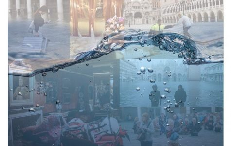 November brought the worst flooding that Venice has seen in nearly 58 years, as the tide rises 80cm above sea level and seeps into stores and homes.