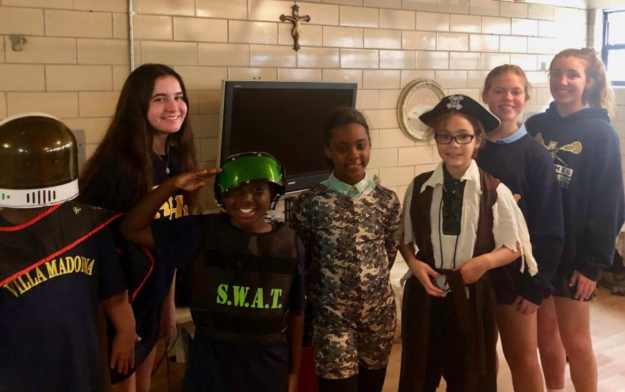 The Boys and Girls Club celebrated Halloween with AHN's Interact Club at Villa Madonna.