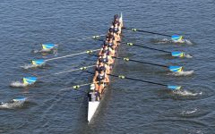 The Crew Team Competes In The Head Of The South