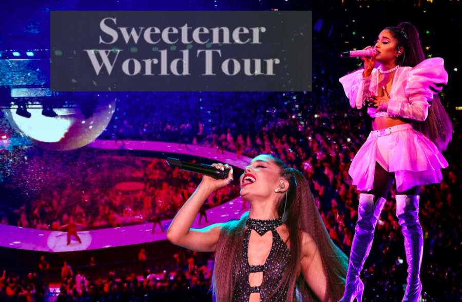 "Grande last performed in Tampa four years prior. ""I'm so grateful to be with you guys, finally,"" she said to her fans midway through the show."