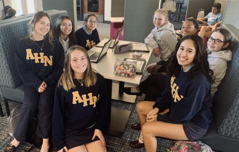 AHN Students finish up First Semester strong and look forward to a fresh start second semester.