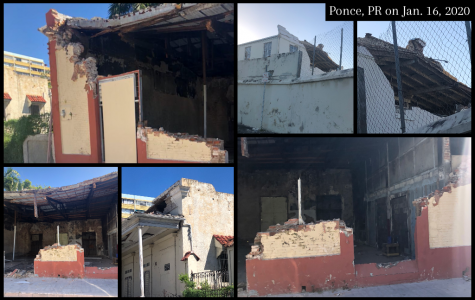 On Jan. 16, 2020 — James-Rodil's uncle — Roberto Rodil took pictures in Ponce, Puerto Rico where several buildings have been destroyed.