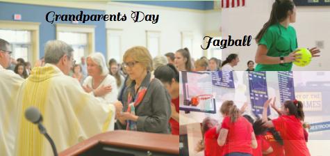 AHN Celebrates Catholic Schools Week: Grandparents Day and Jagball