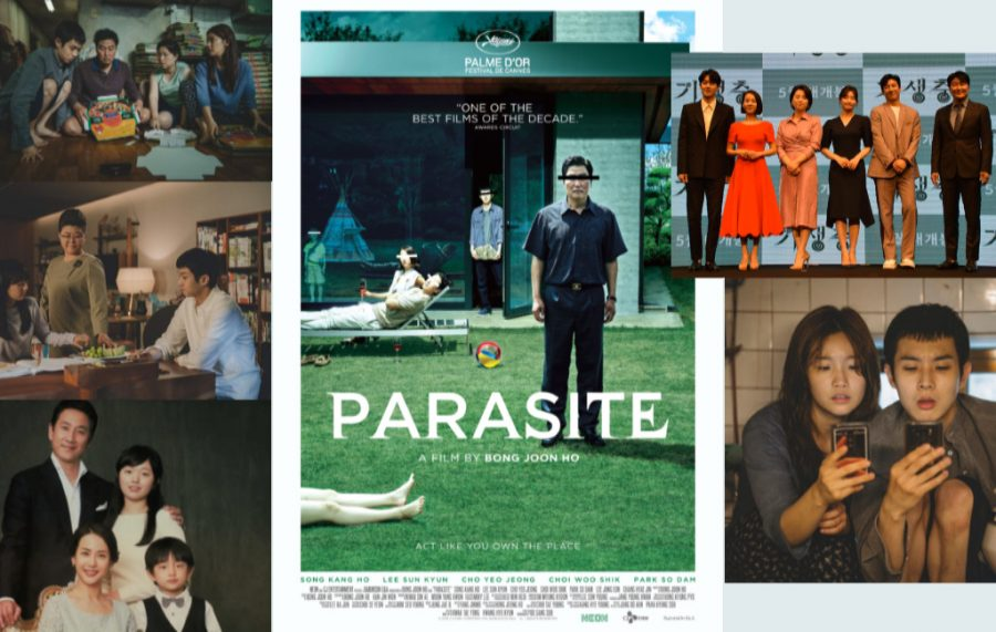 """""""Parasite,"""" a dark comedic thriller about a working-class family of con artists who infiltrate the home of a well-to-do family, is the first South Korean movie to be nominated for  Oscars for best picture and best international film."""
