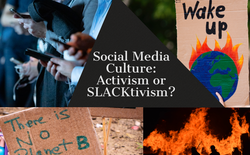The difference between slacktivism and activism is that activists actually want to bring about change in their life and in the world, not just to their followers, said Katelyn Chau (20).