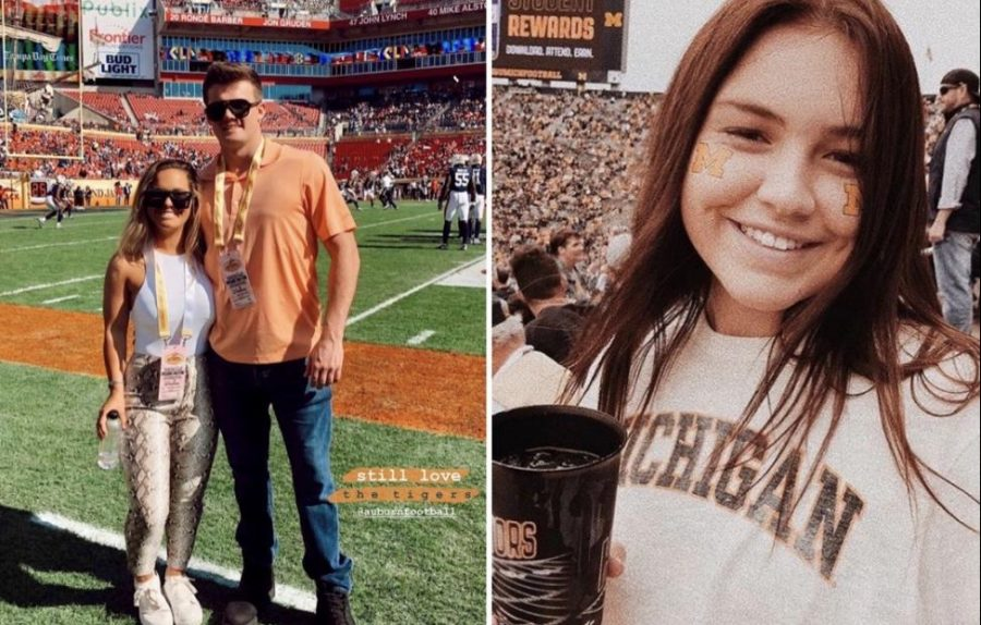 Football is something that has always been known as a guy thing, but the reality of it is so many girls enjoy watching the game too and its about time society starts recognizing that, said senior Peyton Finn.