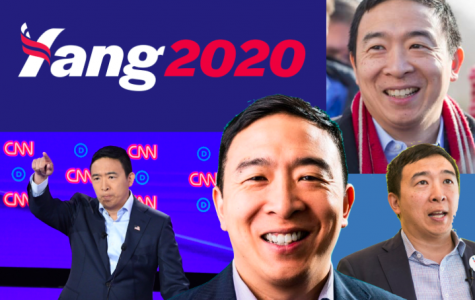 """""""The Yang Gang isn't going anywhere,"""" he said to his supporters Tuesday."""