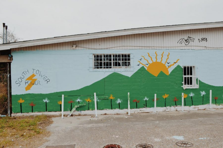 Prior to its closure, youth members of Arise had repainted an external recreational center to spread positivity throughout the community.