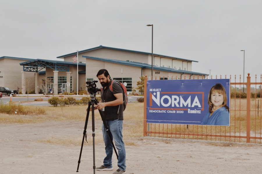 Videographers and local news hosts had attended the rally to both raise awareness and enable viewing for those who had been unable to attend.
