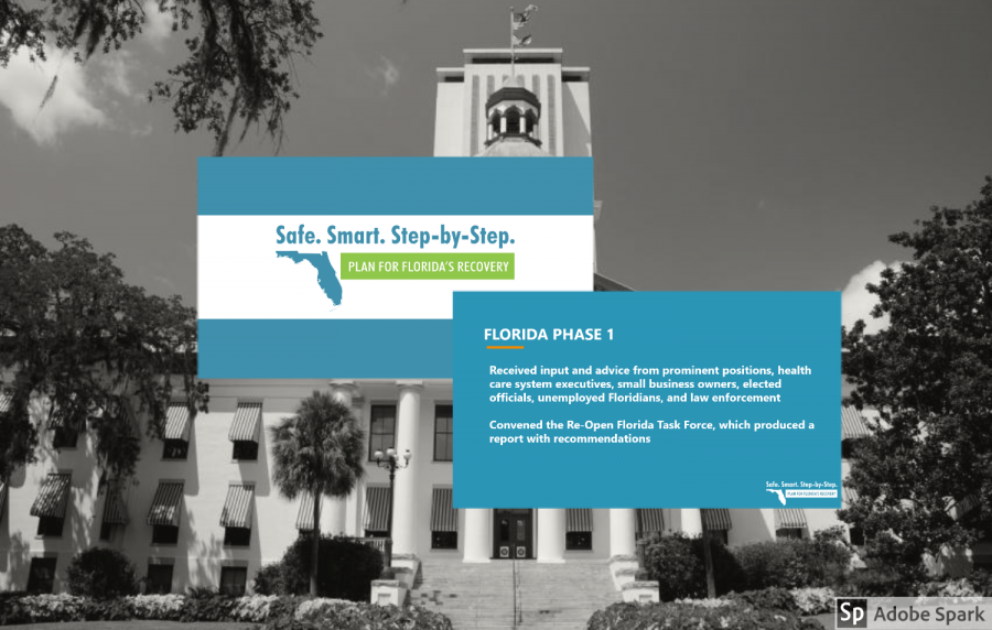 We will get Florida back on its feet using an approach that is safe, smart, and step-by-step. We do have hope. There is a light at the end of the tunnel. - Ron Desantis