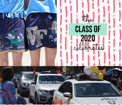 """The car parade was really cool and thoughtful of the faculty and parents. It made me realize how much I'm going to miss academy and the community we had there,"" Anna Frisco ("