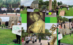 Catholics have been peacefully protesting around the United States. On Sunday, June 7, Bishop Gregory Parkes hosted a holy hour of adoration for the end of racism and violence at the Cathedral of St. Jude in St. Petersburg.