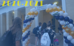 Students were welcomed by two balloon arches that were put on both sides of the campus.