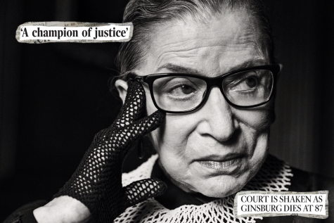 """My mother told me to be a lady. And for her, that meant be your own person, be independent."" - Ruth Bader Ginsburg"