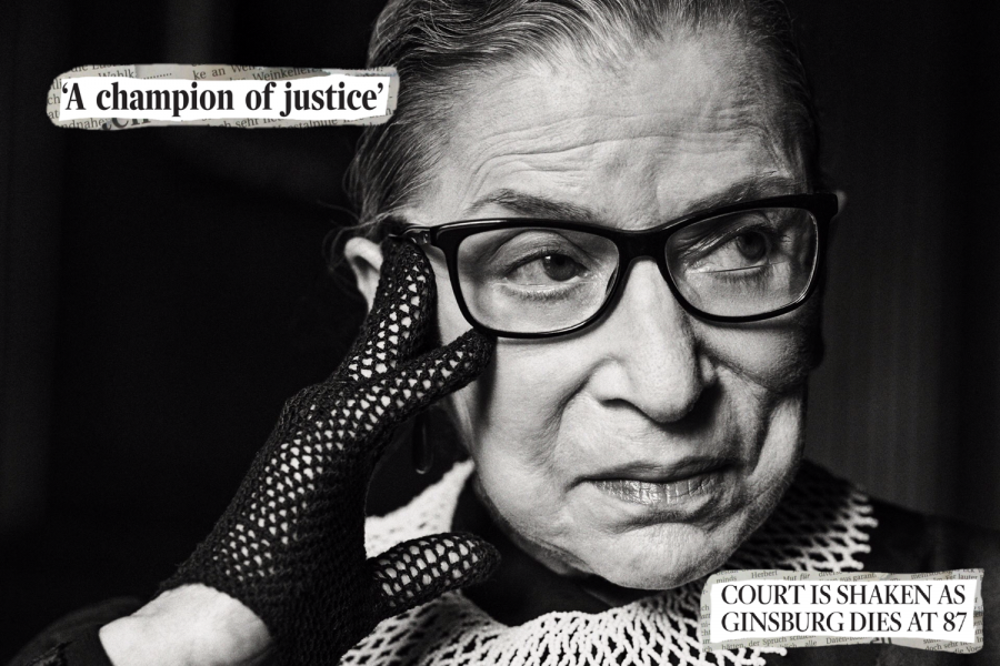 My mother told me to be a lady. And for her, that meant be your own person, be independent. - Ruth Bader Ginsburg