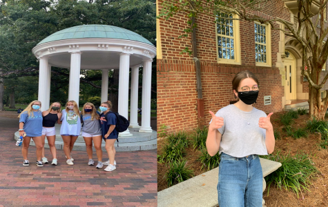 Academy graduates from the Class of 2019 — Samantha Cuttle and Kara Petitt — are featured and attend Florida State University and the University of North Carolina at Chapel Hill.