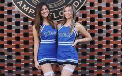 Cecilia Williams('21) and Caroline Vanhorn('21) posing before their senior night, last Friday.