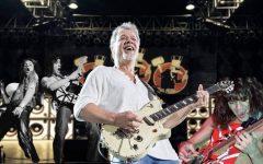 The world mourns the death of Eddie Van Halen, lead guitarists of the band Van Halen.