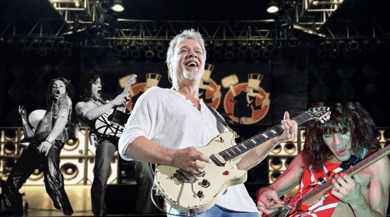 The world mourns the death of Eddie Van Halen, lead guitarists of the band Van Halen.