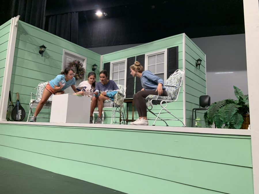 AHN theater rehearses their fall play