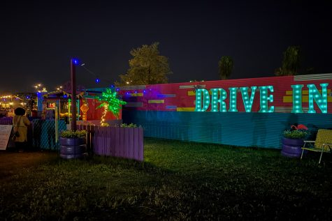 Due to its popularity in the month of October, Armature Works extended its run of a drive-in through November 15.