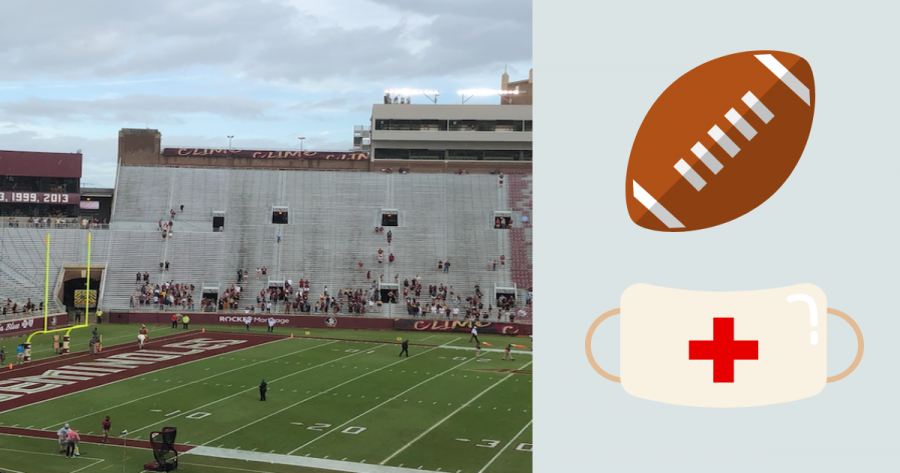 Football stadiums are noticeably emptier due to the pandemic restrictions.