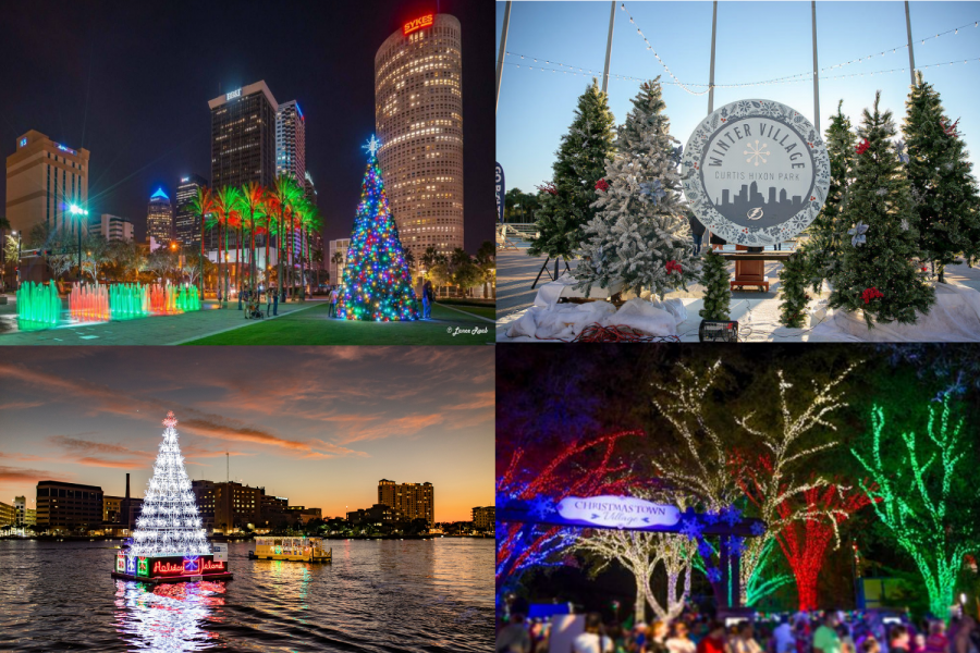 As the Christmas Season begins, Tampa's Christmas themed activities begin as well.