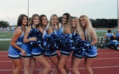 The Junior Cheerleaders were thrilled to be in the semi-finals and were ready to win.