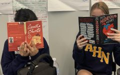 The two authors featured above, Agatha Christie and Edgar Allan Poe, are part of the English II curriculum. Both are by white authors and have stories featuring predominantly white characters.