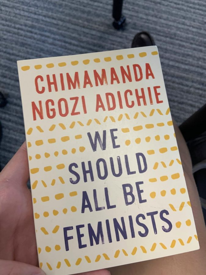 We Should All Be Feminists, an essay Chimamanda Ngozi Adichie, a black woman, is featured in the English I curriculum and is a push towards diversity in the curriculum.