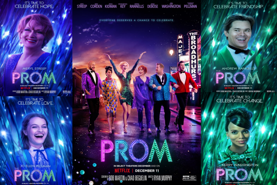 """The Prom"" debuted at the box office prior to being released to Netflix subscribers, according to Town & Country."