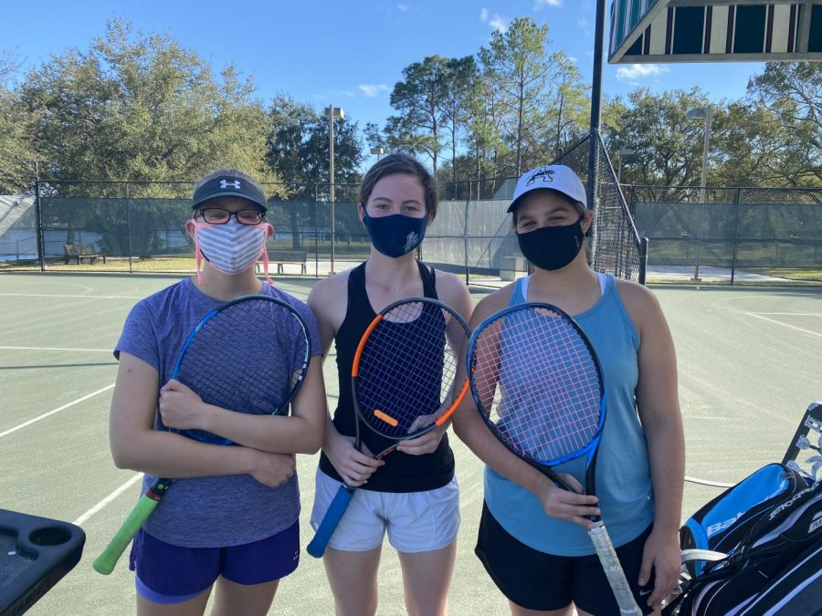 These seniors are ready for their last tennis tryout at AHN