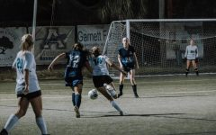 During this game, varsity soccer played against Sunlake High School.