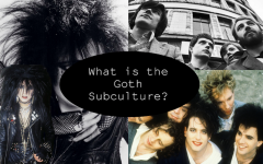 From left to right: Siouxsie Sioux, Joy Division, and The Cure.
