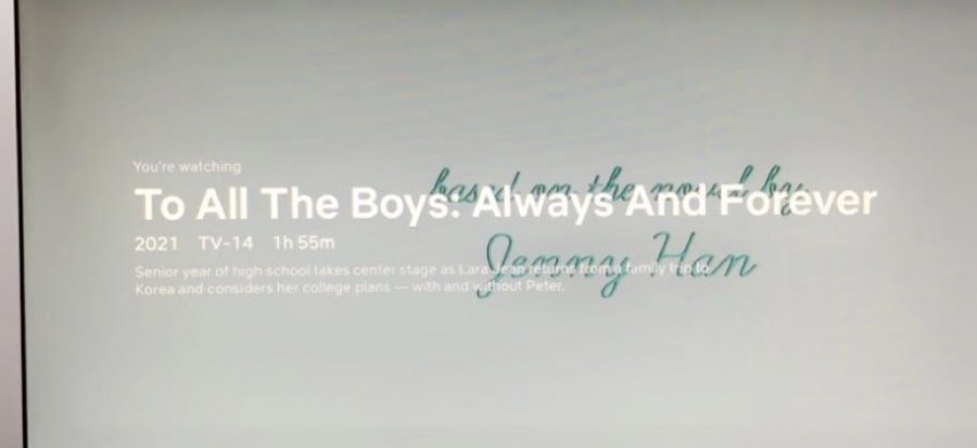 To All the Boys Ive Loved Before, Always and Forever hit Netflix on Friday, Feb. 12.