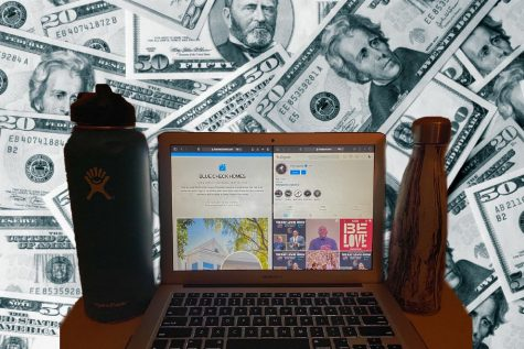 Markers of status can be bought as demonstrated by the viral website Blue Check Homes, buying social media followers, and the Swell and HydroFlask water bottle trends at the Academy.